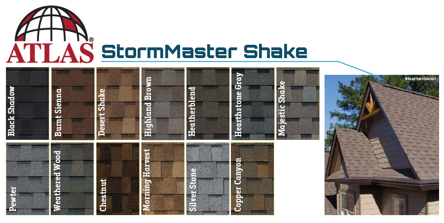 Atlas Swatches for Stormmaster Shake