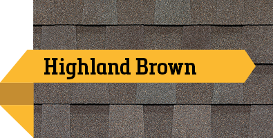 Atlas StormMaster Shake Highland Brown SBS Shingle