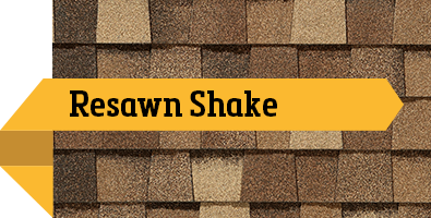 CertainTeed Resawn Shake SBS Shingle